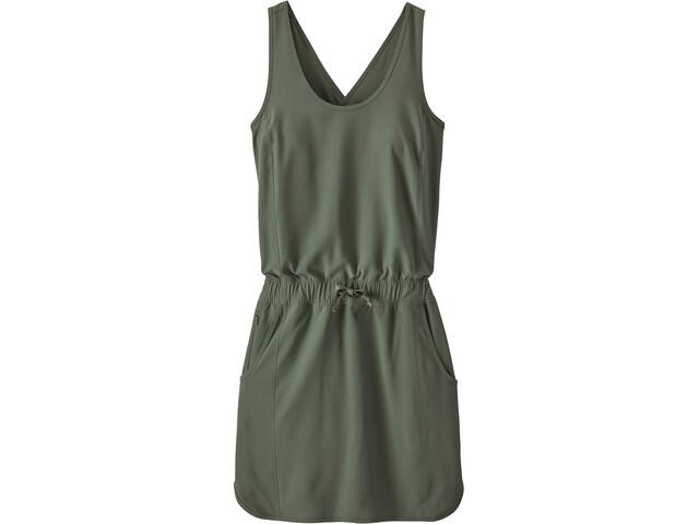 Patagonia Fleetwith Robe Femme, kale green